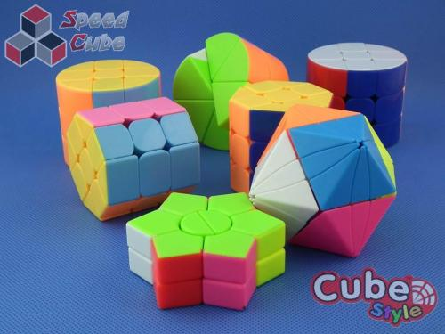 Cube Style Cylinder 3x3x3 Stickerless