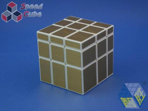 ZhiSheng YuXin Mirror 3x3x3 Gold White Body