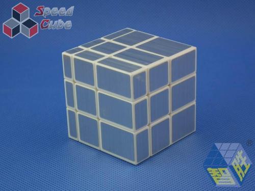 ZhiSheng YuXin Mirror 3x3x3 Silver White Body