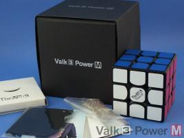 MofangGe The Valk 3 Power Magnetic 3x3x3 Czarna