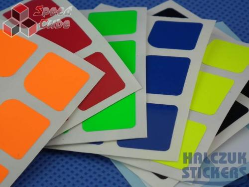 Naklejki 3x3x3 Halczuk Stickers HuaLong Dark Blue