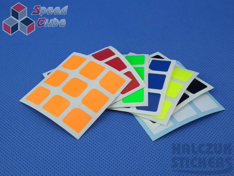 Naklejki 3x3x3 Halczuk Stickers AoLong Dark Blue