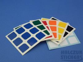 Naklejki 3x3x3 Halczuk Stickers AoLong Normal