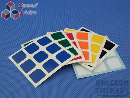 Naklejki 3x3x3 Halczuk Stickers AoLong Normal