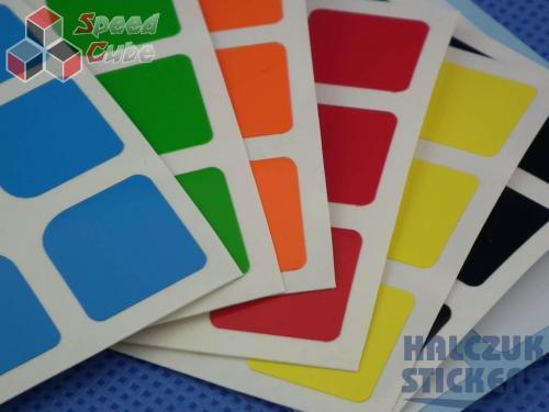 Naklejki 3x3x3 Halczuk Stickers GuanLong Half Bright