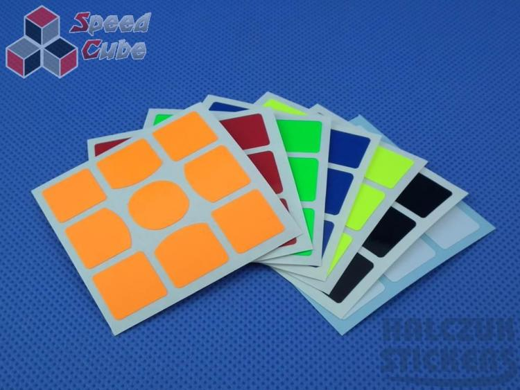 Naklejki 3x3x3 Halczuk Stickers Gans 357 Dark Blue