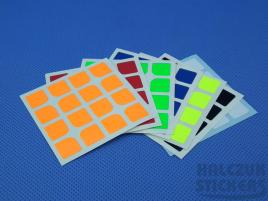 Naklejki 4x4x4 Halczuk Stickers Standard Florian Dark Blue