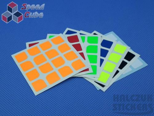 Naklejki 4x4x4 Halczuk Stickers ShengShou Florian Dark Blue