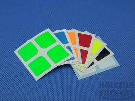 Naklejki 2x2x2 Halczuk Stickers Mini Florian Fluo