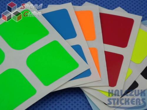 Naklejki 2x2x2 Halczuk Stickers Florian Mini Fluo