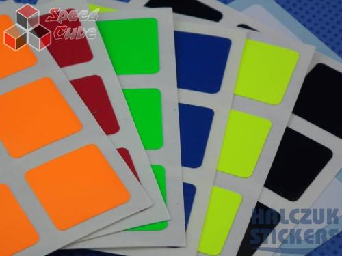Naklejki 3x3x3 Halczuk Stickers BiG Dark Blue 57
