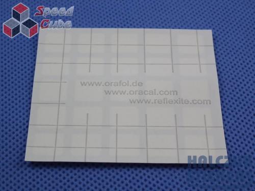 Naklejki 3x3x3 Halczuk Stickers BiG Fluo 57