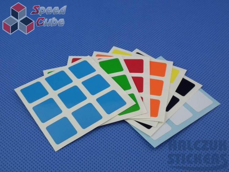 Naklejki 3x3x3 Halczuk Stickers BiG HB 57