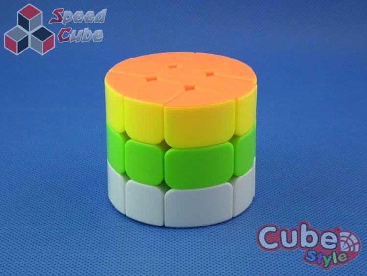 Cube Style Cylinder 3x3x3 Stickerless Bright