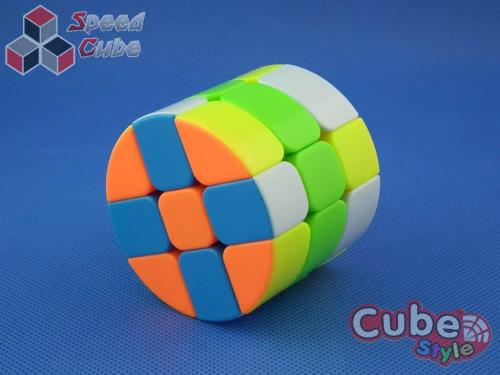 Cube Style Cylinder 3x3x3 Stickerless Bright