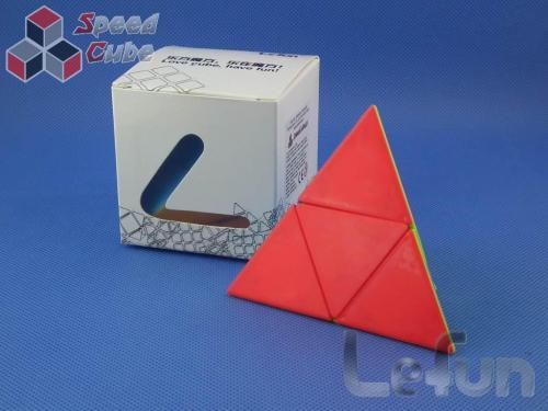LeFun Pyraminx 2x2 Kolorowa PiNK