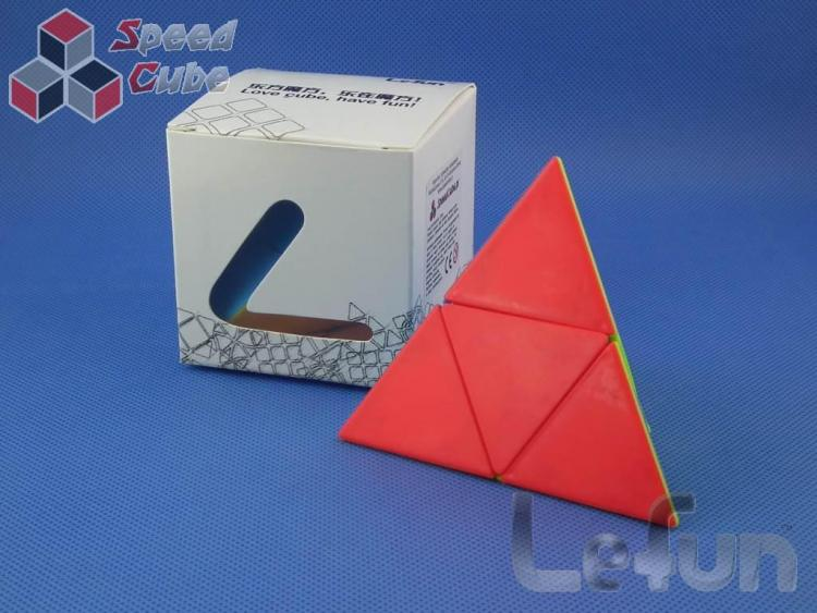 LeFun Pyraminx 2x2 Kolorowa