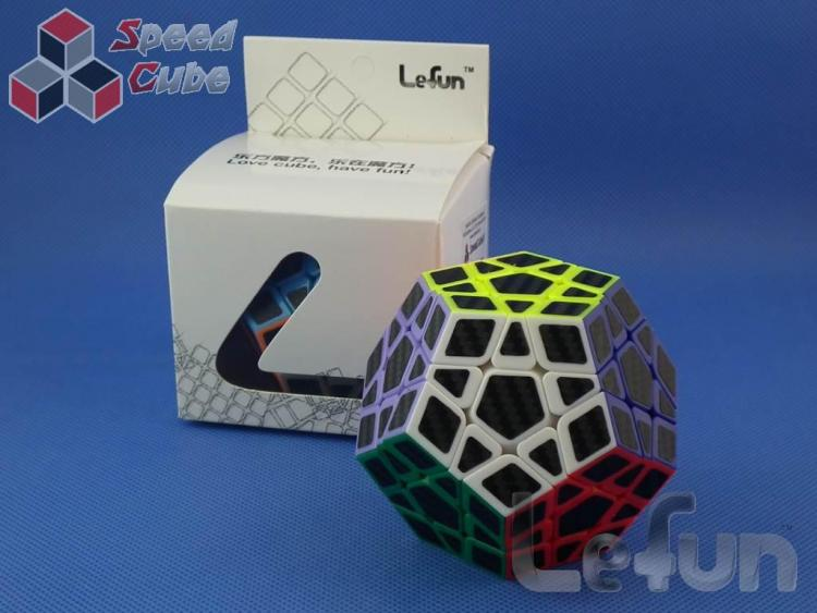 LeFun Megaminx Carbon Stickers