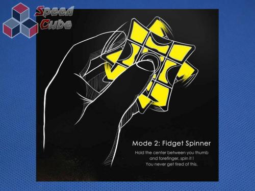MoFangGe Fidget Spinner 1x3x3 Pink