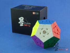 MoFangGe Megaminx GalaXy V2 M Concave Kolorowa
