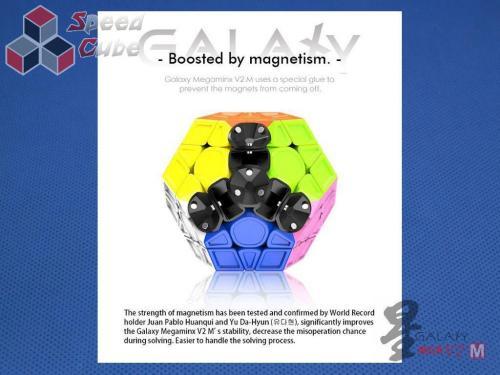 MoFangGe Megaminx GalaXy V2 M Concave Czarna