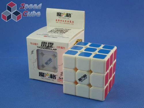 MoFangGe QiYi Thunder Clap BOX 3x3x3 Biała