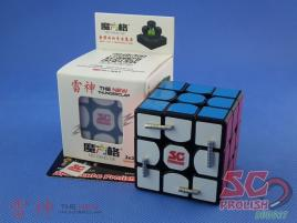 PROLISH MFG 3x3x3 Thunder Clap v2 Czarna Magnetyczna