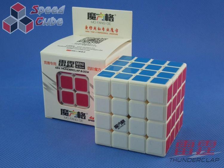 MoFangGe QiYi Thunder Clap 60 mm 4x4x4 Biała