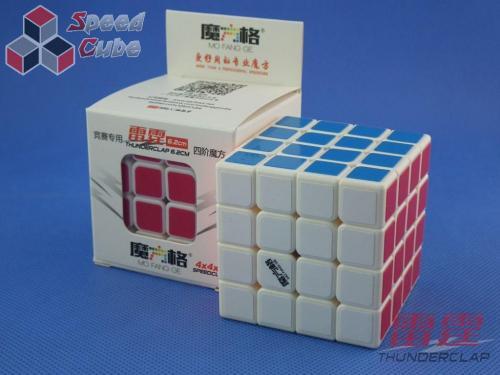 MoFangGe QiYi Thunder Clap 62 mm 4x4x4 Biała