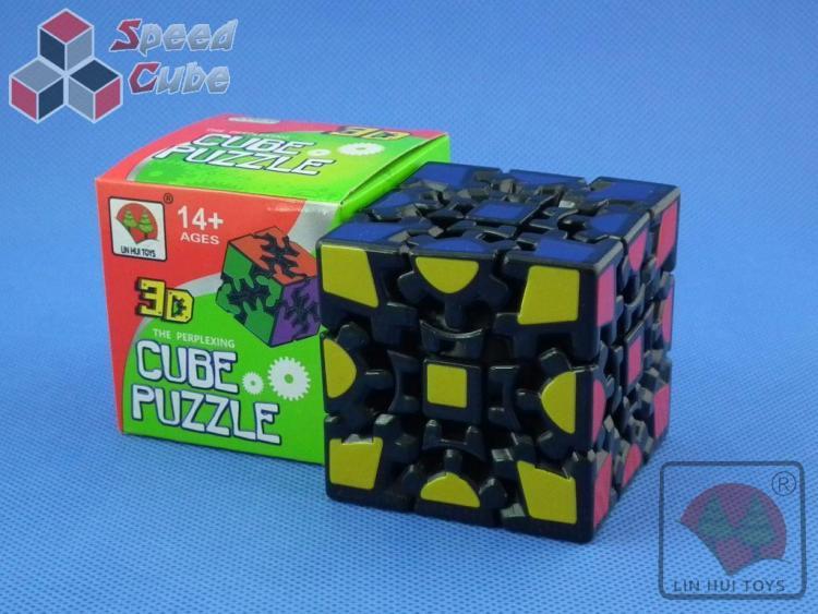 Gear Cube I 3x3x3 Czarna Print Stick.
