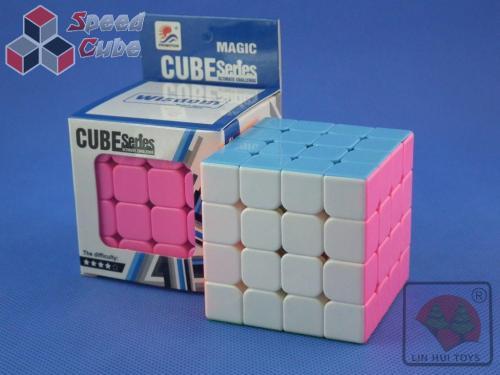 LINHUI TOYS 4x4x4 Stickerless Pink