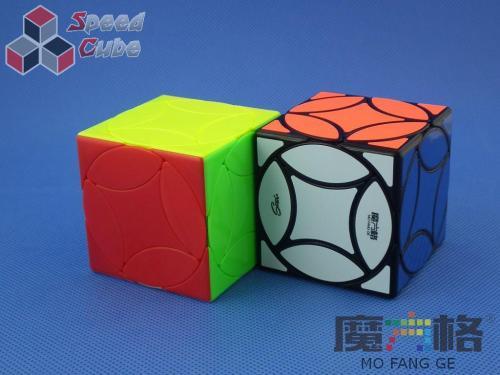 MoFangGe Ancient Coin Cube Kolorowa