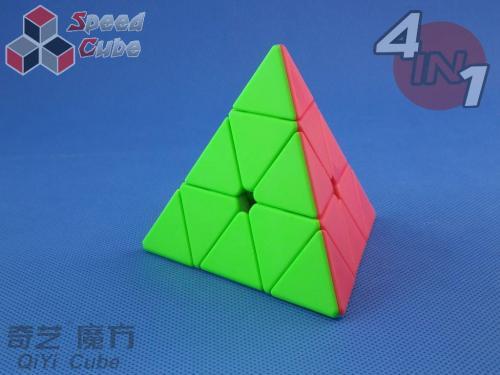 QiYi Zestaw 4in1 Combination 4 Stickerless