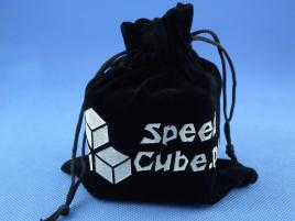 Woreczek na kostkę Cube Bag Czarny