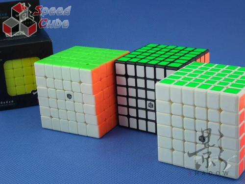 MoFangGe X-Man Design 6x6x6 Shadow Czarna