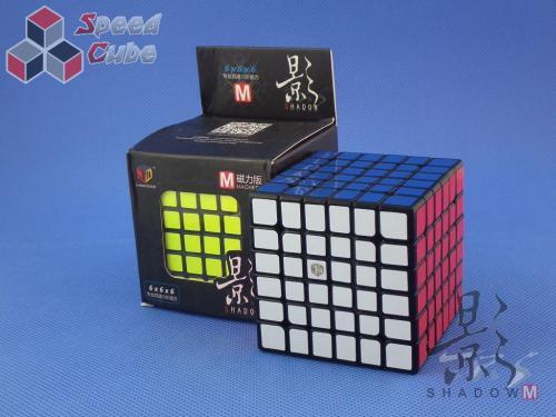 MoFangGe X-Man Design 6x6x6 Shadow Magnetic Czarna