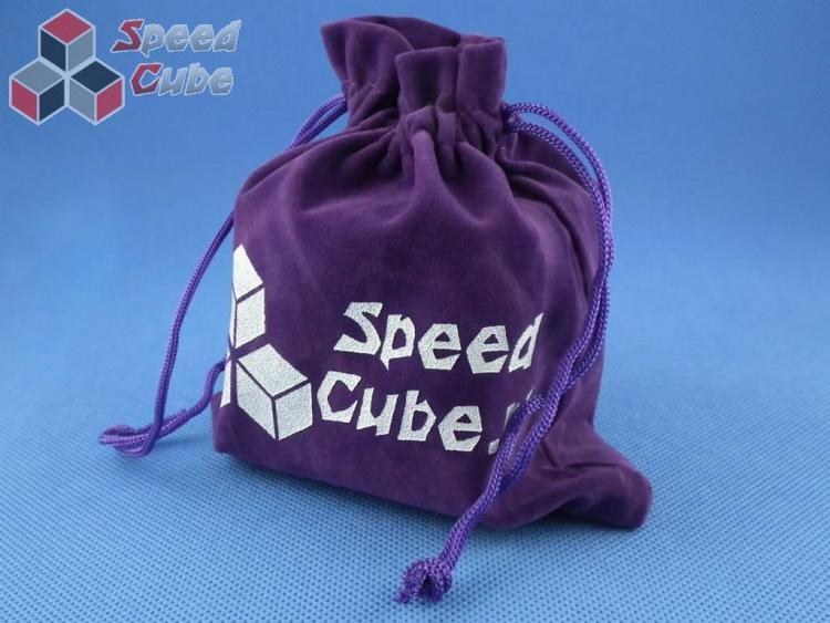 Woreczek na kostkę Cube Bag Fioletowy