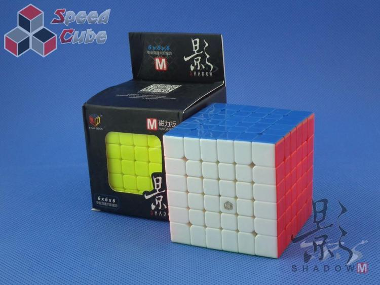 MoFangGe X-Man Design 6x6x6 Shadow Magnetic Kolorowa