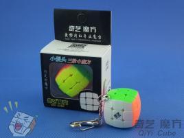 QiYi Cube Key Ring (colour box) Kolorowa Brelok