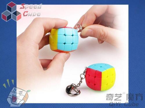 Cube Key Ring (colour box) Kolorowa Brelok