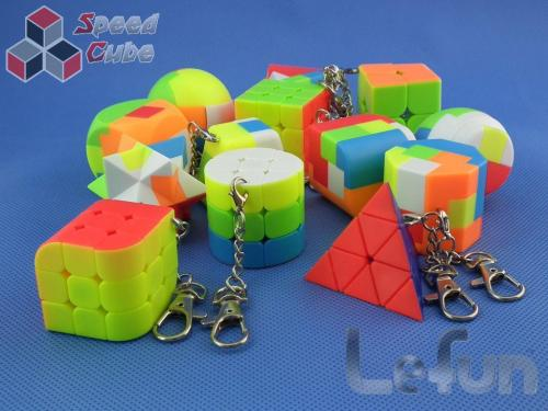 LeFun 2x2x2 Kolorowa Brelok