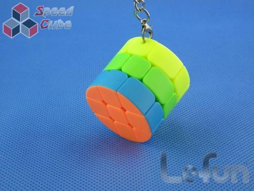 LeFun Cylinder 3x3x3 Kolorowa Brelok