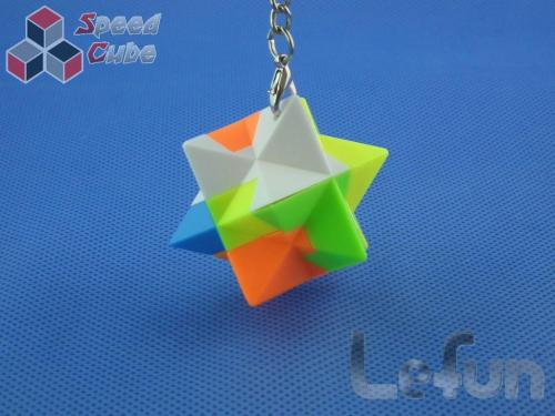 LeFun Star Kolorowa Brelok