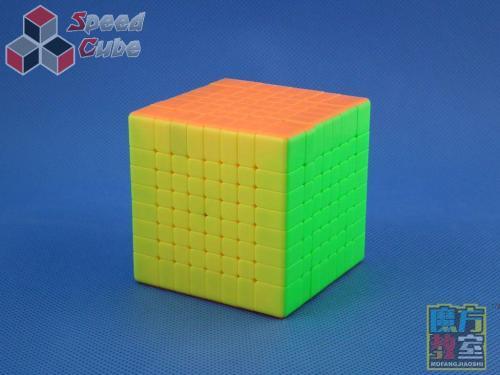 MoYu MoFang JiaoShi 8x8x8 MF8 Kolorowa