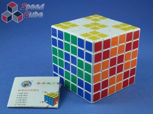 ShengShou 6x6x6 Biała