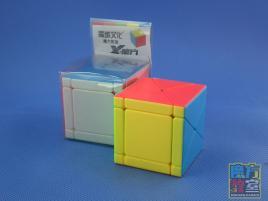 MoYu MoFang JiaoShi Fisher Skewb X Cube Kolorowa