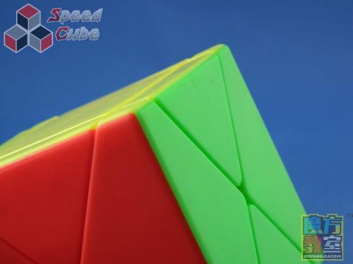 MoYu MoFang Fisher Skewb X Cube Kolorowa
