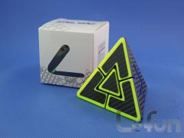 LeFun Dual Pyraminx Kolorowa Carbon Stickers