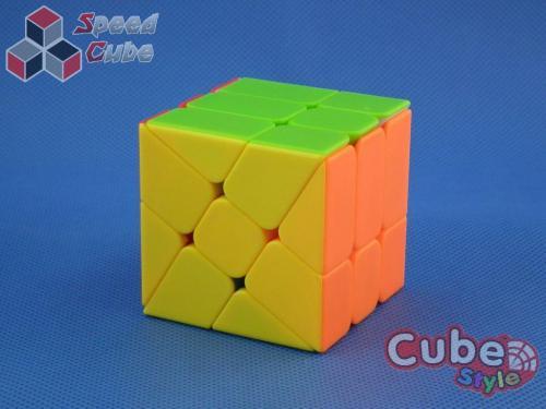 Cube Style Windmill Kolorowa