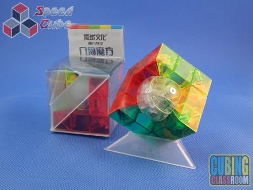 MoYu MoFang JiaoShi Geo Cube A Kolorowa